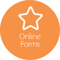 Online forms button